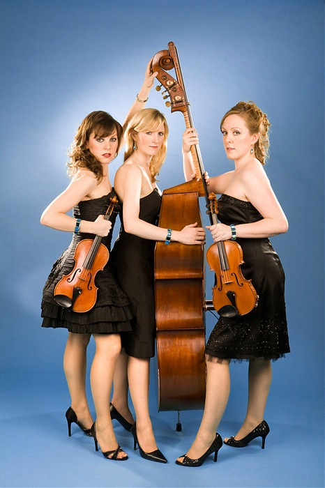 photoblog image The Blue Topaz String Trio, A portrait