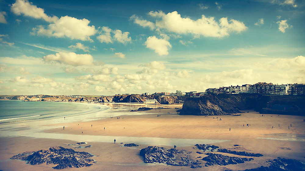 photoblog image Cornwall Beach
