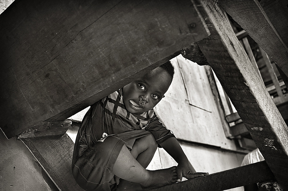 photoblog image Snutty boy from Makoko