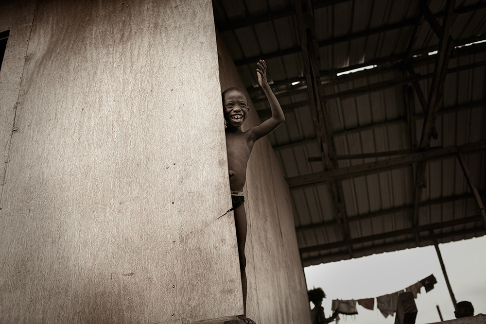 photoblog image Another boy from Makoko